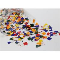 Buy Assorted Gummed Paper Shapes Art Project For Greeting Card Decoration at wholesale prices