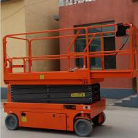 Quality 5.8m Mobile Scissor Lift Factory Construction Hydraulic Aerial Work Platform for sale