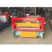 Quality 380V Metal Roof Forming Machine Build - In Energy Saving Frequency Converter for sale