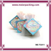 Quality Seal paper tags/Square tea paper tags/Cutomize sale paper tags for tea ME-TG011 for sale