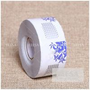 Quality Factory OEM 500PCS Custom Extension Rectangle Shape Nail Acrylic Form UV Nail Art Form for sale