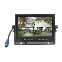 Buy 7'' Quad AHD DVR TFT Car Monitor Support 4PCS 720P Cameras HDD Recording at wholesale prices