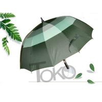 """Quality Large Printed Vented Golf Umbrella ,  Double Canopy Rain Umbrella 56"""" X 8 K Size for sale"""