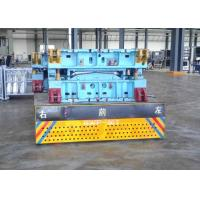 Quality 100T Industrial Usage Motorized Trackless Turning Vehicle On Cement Floor for sale