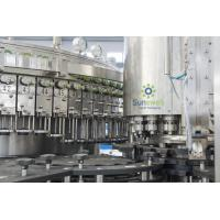 Quality Automatic Beer Washing Filling Machine , Glass Beer Capping Machine for sale