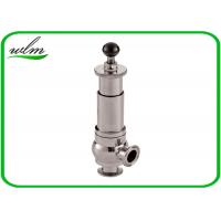 Quality Diary Food Grade Anitary Pressure Relief Valve Safety One Way Flow Direction for sale