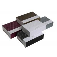 Buy Custom Magnetic Boxes Packaging , Cardboard Jewellery Boxes Matt Lamination at wholesale prices