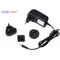 Quality 12V 2A Multi Plug AC Adapter , ABS Material Universal AC To 12v DC Power Supply for sale