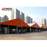 Quality Red Color Four Channel Aluminum Frame Tent Smooth Finishing Wind - Proof for sale