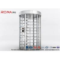 Quality Full Height Turnstile RFID Card Reader Fingerprint Stainless Steel Turnstiles Secure Turn Style Gate for sale