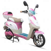 Quality 350W Pink Adult Electric Scooter , Battery Operated Scooter With 350W - 450W Motor for sale