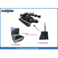 Quality H.264 High speed audio video transmitter Ethernet Wireless IP Transceiver Real-time Transmission for sale