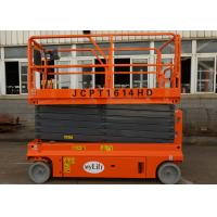 Quality Stationary Mini Scissor Lift 13.7m Floor Standing Electric Scissor Lift Table for sale