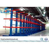 Buy cheap Customized Warehouse Storage Racks / Adjustable Cantilever Racking System from wholesalers