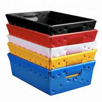 Quality Mannkie foldable recycled coroplast box pp corrugated plastic boxes for sale
