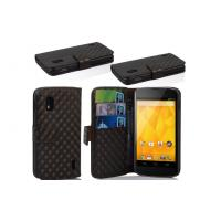 China Black LG Mobile Phone Covers , E960 PU Shock Resistant Phone Cases on sale