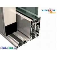 Quality AA6061 T6 Aluminium Extruded Profile Powder Coated For Doors for sale