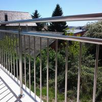 Quality High Quality Stainless Steel Window Grill Design Balcony Railing with Wire / Cable / Rod Railing for sale