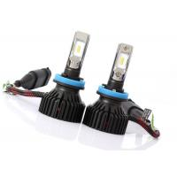 Quality 60 Watt 6500K T8 H8 H9 H11 Led Headlight 8000LM with 6063 Aviation Aluminium for sale