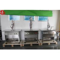 Quality Stainless Steel Semi Automatic Aerosol Filling Machine for Leather Spray Can Filling for sale