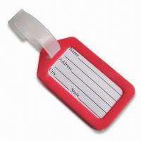 Quality Luggage Tag, Available in Red, Suitable for Decoration Purposes for sale