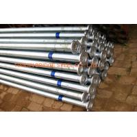 Quality Natural Gas Electronic Resistance Welded Steel Pipe Structural BS 1387 for sale