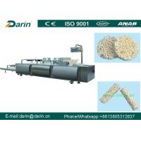 Quality Automatic Puffed Rice Ball Forming Machine , Fruit Bar Machine Manufacturing Plant for sale