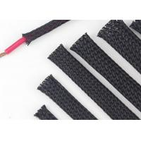 Quality Custom Size Expandable Braided Cable Sleeving Excellent Flexibility Wear Resistant for sale