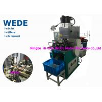 Quality 1 Motor Vertical Electric Motor Winding Machine , Automatic Power Transformer Winding Machine for sale