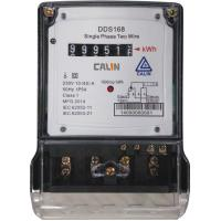 China Compact Mini Single Phase Electric Meter Extended Terminal Cover Killowatt Meter on sale