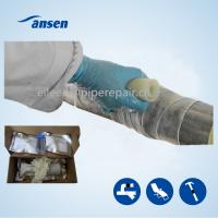 Quality Quickly Repair Wrap Strong Black Fiber Wrap Tape for Emergency Repair Industry Pipeline Leak for sale