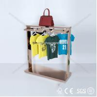 Quality clothing shop display warehouse, heavy duty garment display racks for sale