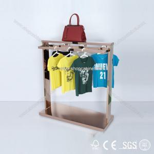 Quality clothing shop display warehouse, heavy duty garment display racks for sale