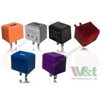 Quality Colorful Cube European / Italy 5V AC DC USB Power Adapter For MP3 / MP4 / MP5 for sale