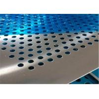 China Professional Design Perforated Metal Mesh Plate Stainless Steel Round Hole on sale