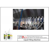 Buy 5000 B/H Auto Liquid Chemical Filling Machine High Efficiency For 0.5 - 5L Fertilizer at wholesale prices