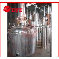 Quality 500L Red Copper Commercial Distilling Equipment , Alcohol Still Kits for sale