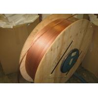 China Custom Length Copper Coil Tubing / Pancake Coil Copper Pipe 0.1 - 200mm Wall Thickness on sale
