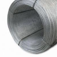 Quality Messenger/Stay Wire in Various Diameters, Used in Self Supports Cable, Guy Strand, and ACSR for sale