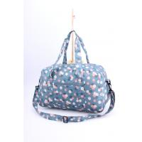 Quality Bright light weigh beautiful flower printing cute luggage for girls for sale