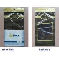 Quality Black Anticorrosive Plastic Cigar Bags For Colombia / Dominica Cigars for sale