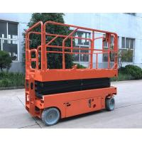 Buy cheap 11.8m Construction Scissor Lift Extension Hydraulic Mechanical Scissor Lift from wholesalers