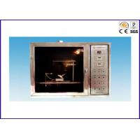 China IEC60695-11-5 Durable Flammability Test Chamber , Needle Flame Tester For IEC60695-2-2 on sale