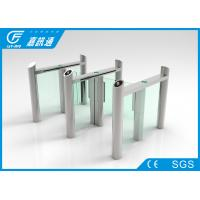 Quality Building Hall Speed Swing Gate Turnstile , Comercial Turnstile Gate Systems for sale