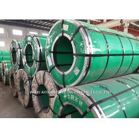 Quality 304 201 Cold Rolled Steel Sheet In Coil / 316 Stainless Steel Coil Mill Edge for sale