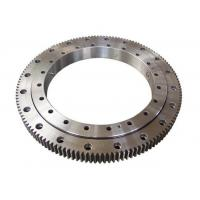 Quality Single Row Four Point Contact Ball Slewing Ring Bearings External Gear For Axial Load for sale