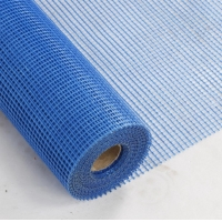 China 130g 5*5mm Waterproof and Resistant LENO Woven Fiberglass Mesh Roll on sale