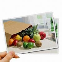 Quality Waterproof Magnetic Inkjet Printing Papers, Easy to Cut with Knife or Scissor for sale