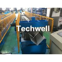 China Customized Cold Roll Forming Machine With Manual Decoiler For Making Roof Ridge Cap , Ridge Flashing on sale