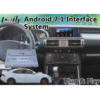 Buy cheap Android 6.0 GPS Navigation Box for 2013-2016 Lexus Is 250 Support TV / 360 from wholesalers